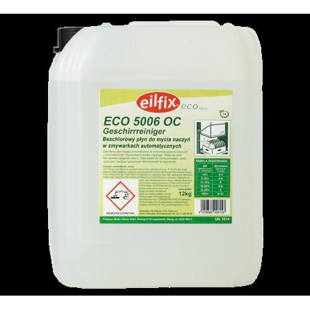 Bezchlorowy Płyn do mycia naczyń w zmywarkach automatycznych ECO 5006 OC Geschirrreiniger 12 kg