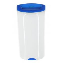 kosz-otwarty-wiszący-MERIDA-TOP-niebieski-pojemność-40-litrów