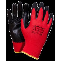 rekawice-ochronne-czerwono-czarne-gnitex-set-b