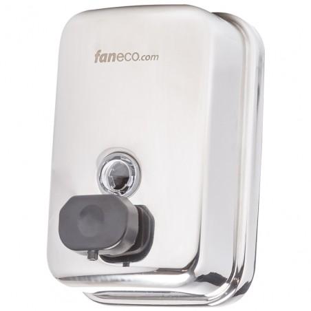 Dozownik mydła w płynie ze stali polerowanej 0,5l Faneco Duo