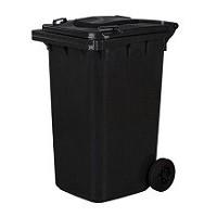 Pojemniki na odpady na zewnątrz 120 i 240 litrów