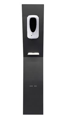 Kolumna, stacja do dezynfekcji rąk z automatycznym dozownikiem